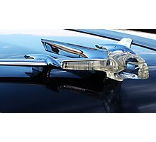 Pontiac Chief Hood Ornament Photographic Print