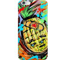 Adorable Disatisfied Pineapple Boo Boo iPhone Case/Skin