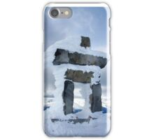 Inukshuk- Whistler Peak iPhone Case/Skin