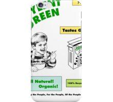 Soylent Green Breakfast Cereal iPhone Case/Skin