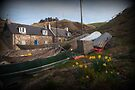 Crovie in spring by Morag Anderson