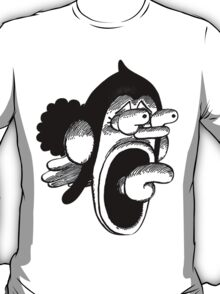 Usopp Scared Face - One Piece T-Shirt