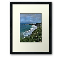 Coastal Britain - Northern Ireland Framed Print
