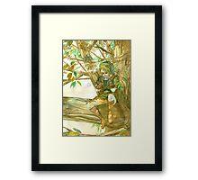 Peaceful Link Framed Print