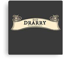 Drarry -- Map Ribbon Ver. Canvas Print