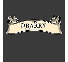 Drarry -- Map Ribbon Ver. Photographic Print