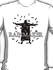 Rainmaker (Okada) - Distressed, Black T-Shirt