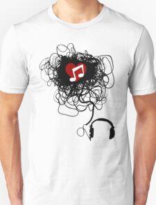 Love You, Music! Unisex T-Shirt