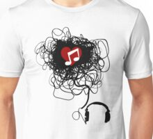 Love You, Music! Unisex T-Shirt