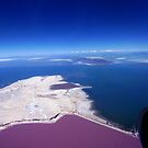 Flying over the Salt Flats of Utah by Shiva77