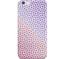 Dots in Pink and Magenta iPhone Case/Skin