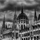 Storm Clouds over the Hungarian Parliament ,Budapest by Keats68
