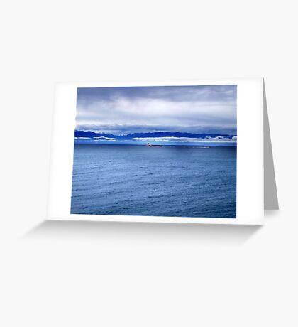 Safe Voyage Greeting Card