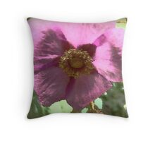 Filtered Flower Throw Pillow