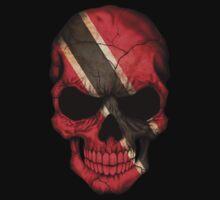 Trinidadian Flag Skull Kids Clothes