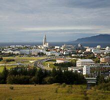 Hallgrimskirkja, Reykjavik, Iceland by hinomaru
