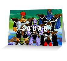 "Ginyu Force ""Squad""  Greeting Card"