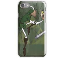 Link Puppet from Legend of Zelda with Background iPhone Case/Skin