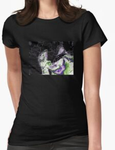Decapitated Cherubs  Womens Fitted T-Shirt