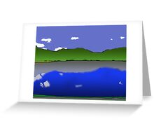 Arrow lake From The Leland Hotel Greeting Card