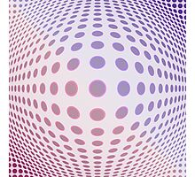Convex Dots Photographic Print