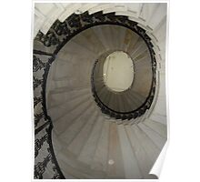 Spiral Stairs Poster