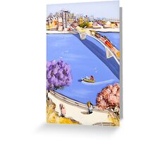 Into your heart Greeting Card