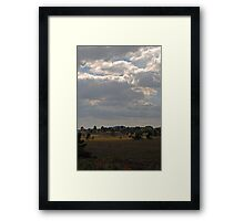 The lightness is approaching Framed Print