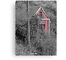 EQUIPMENT SHED Canvas Print