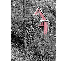EQUIPMENT SHED Photographic Print