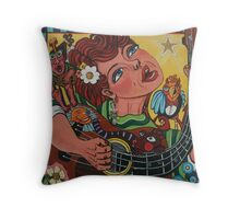 Song Writer Throw Pillow
