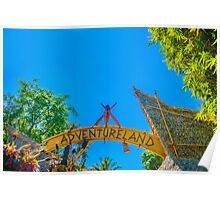 land of adventure Poster