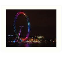 London Eye turns 10 Art Print