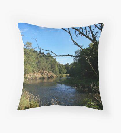 Tweed River Throw Pillow