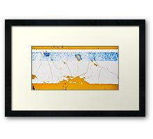 What if you could see the ozone layer... Framed Print
