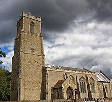 St Helen, Ranworth by Lynne Morris