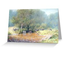 The Crossing, Cumbria Greeting Card