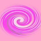 60' s Twirls in Shades of Pink by Dawnsuzanne