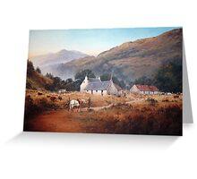 Successful Deer Hunt, Scotland Greeting Card