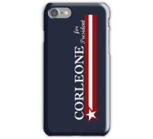 Corleone for President iPhone Case/Skin