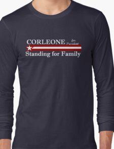 Corleone for President Long Sleeve T-Shirt