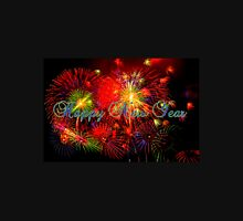 Happy New Year Fireworks Unisex T-Shirt