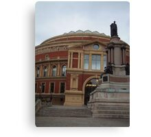 The Royal Albert Hall Canvas Print