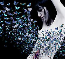 butterfly in my stomach  by mayumi