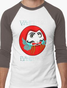 vaping daruma Men's Baseball ¾ T-Shirt