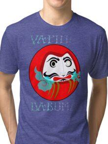 vaping daruma Tri-blend T-Shirt