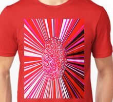 Meatball - pink red and black photoshopped image Unisex T-Shirt