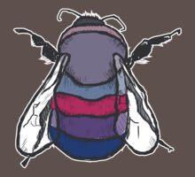 Bisexual Bee by artfulscientist