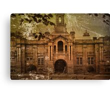 ~ Vintage Cartwright Hall, Aged And Old ~ Canvas Print