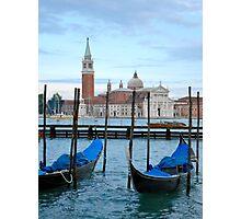 Gondola Magic Photographic Print